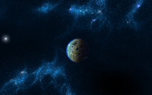 planet with generated skybox 2